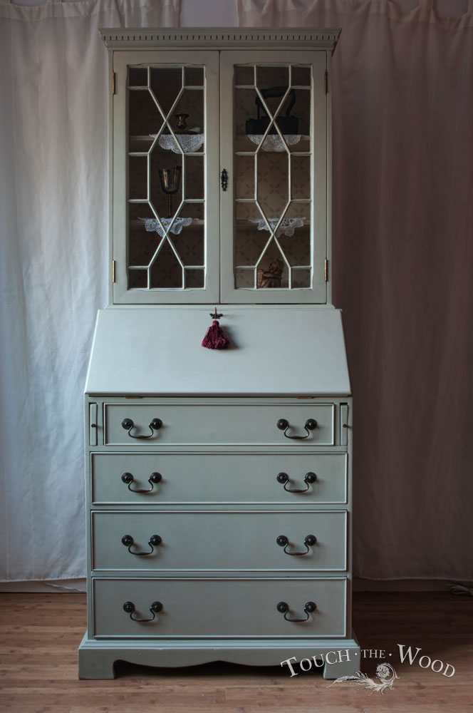 Shabby Chic Bureau With Bookcase No 17 Touch The Wood