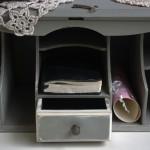 Vintage Antique Shabby Chic Writting Bureau