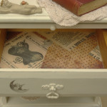 Vintage Shabby Chic Bedside Cabinets
