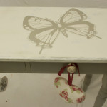 Vintage Shabby Chic Console Table