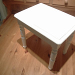 Vintage Shabby Chic French Style Single Nest Table