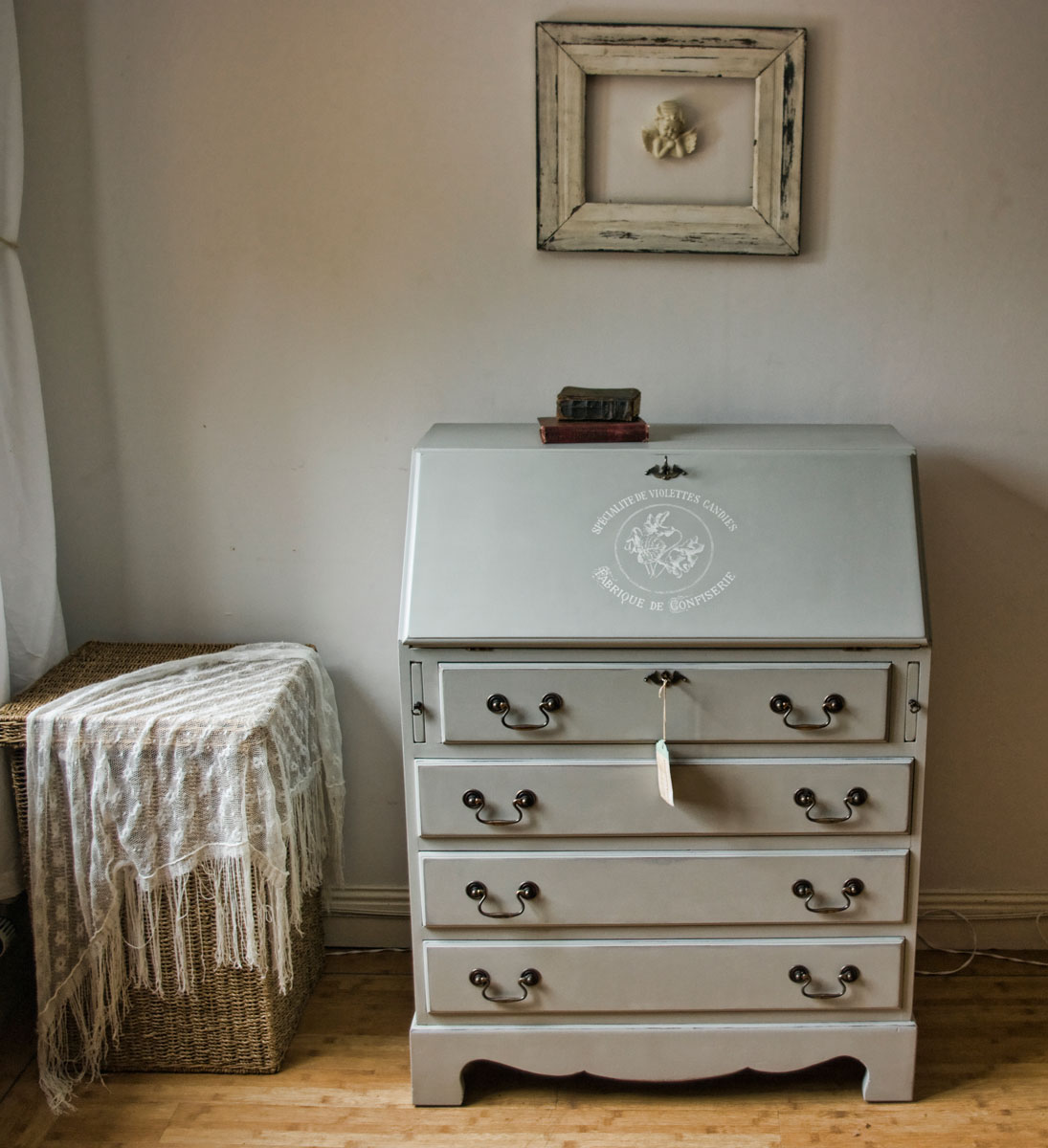 shabby chic bureau no 05 touch the wood. Black Bedroom Furniture Sets. Home Design Ideas