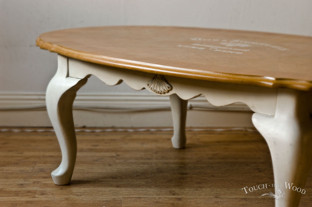 Shabby Chic Oval Coffee Table No 01 Touch The Wood