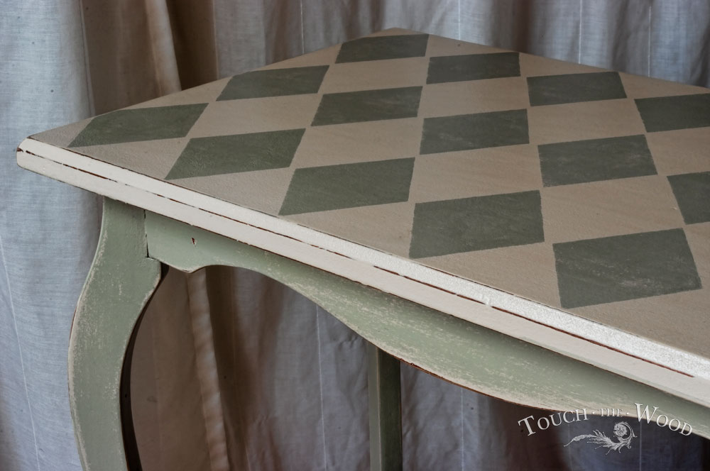 Harlequin Shabby Chic Side Table No 05 Touch The Wood