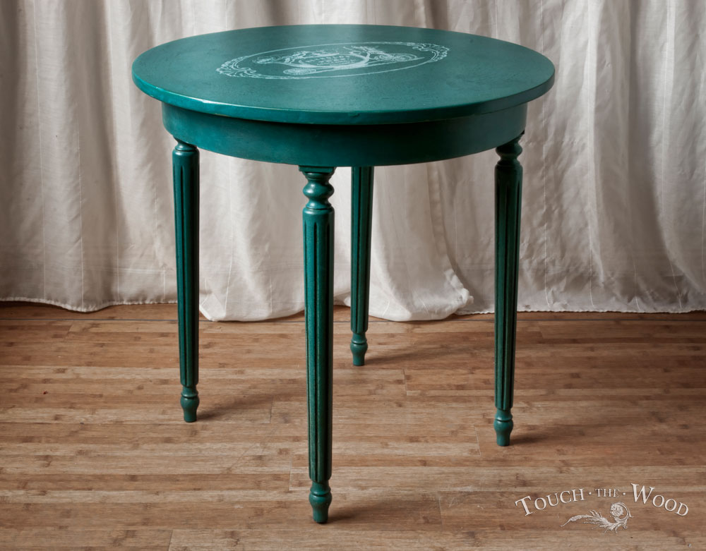 Antique End Tables Images: Vintage Shabby Chic Side Table No. 03