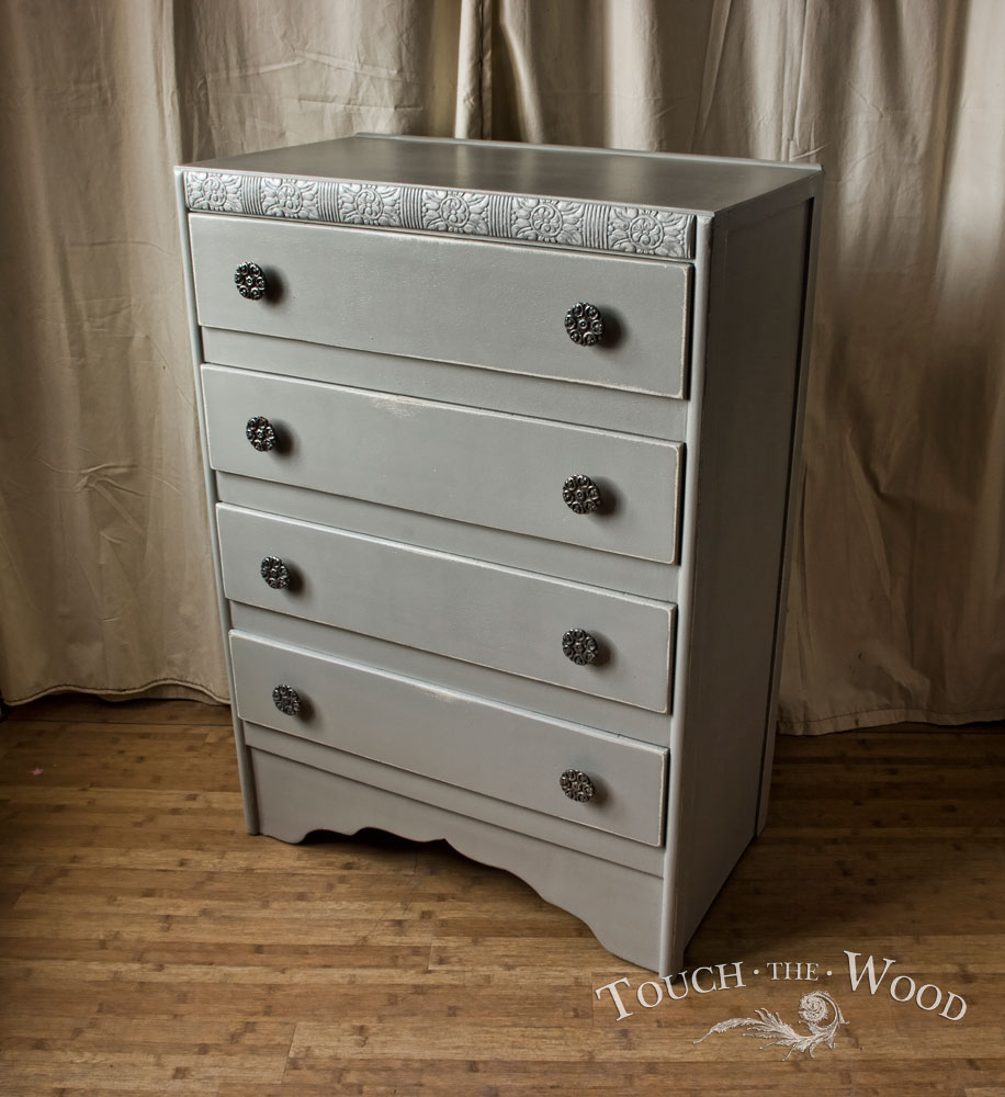 Vintage Shabby Chic Chest Of Drawers No 5 Touch The Wood