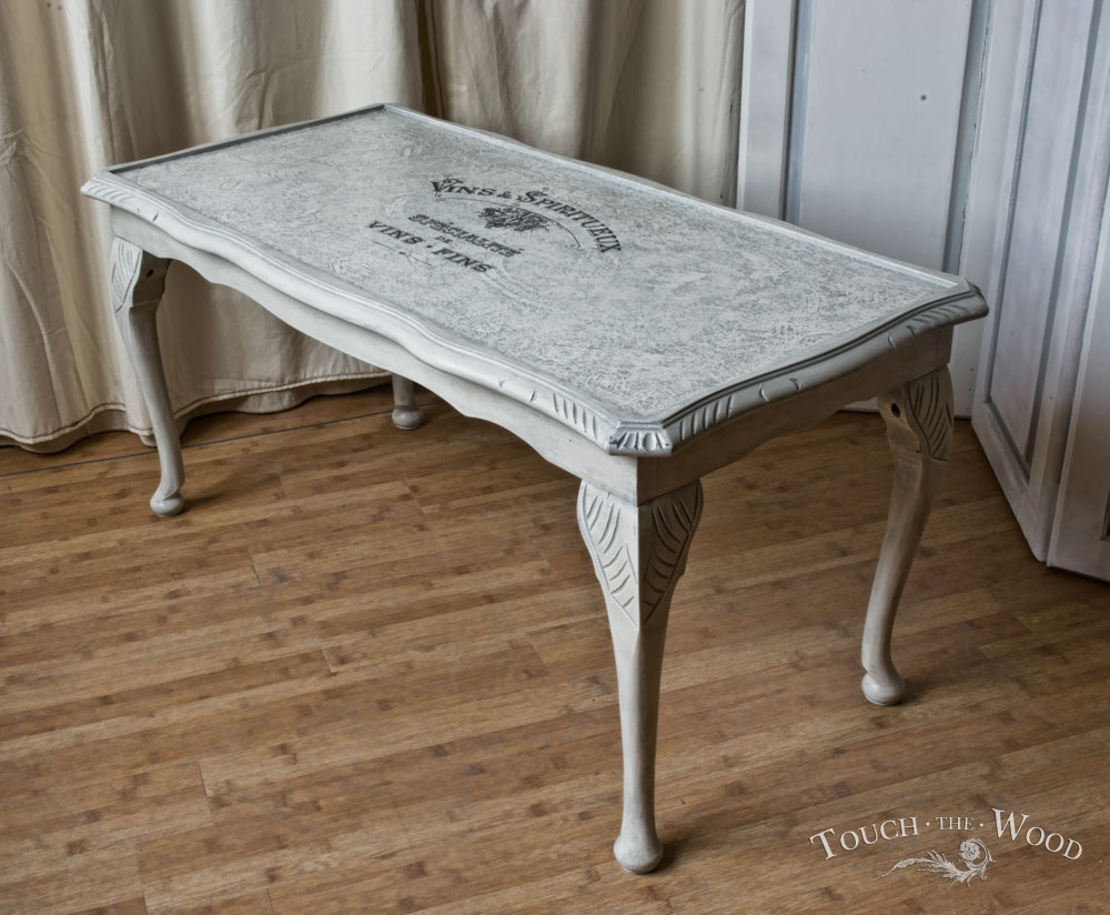 Rustic end tables for living room chic coffee table shabby for Tableaux shabby chic