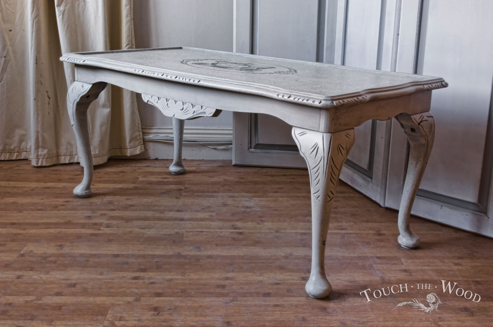 shabby chic coffee table no 04 touch the wood. Black Bedroom Furniture Sets. Home Design Ideas
