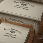 Shabby Chic Furniture with Print Transfer - Annie Sloan's Chalk Paint