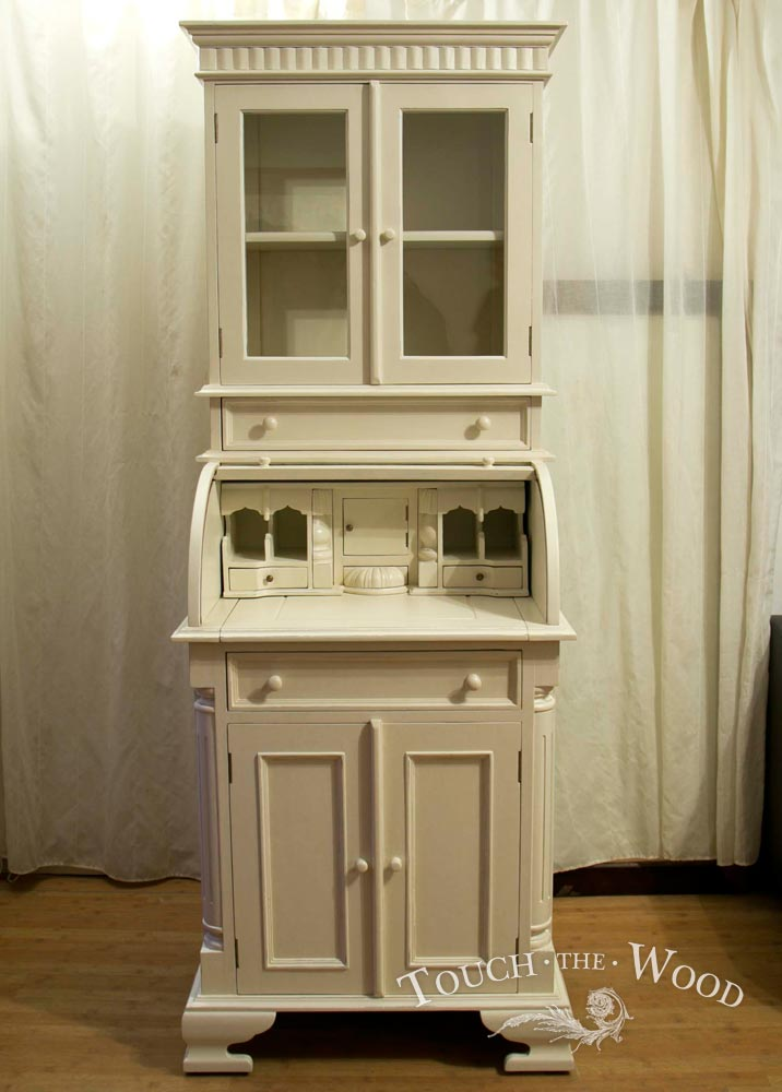 tall shabby chic bureau no 24