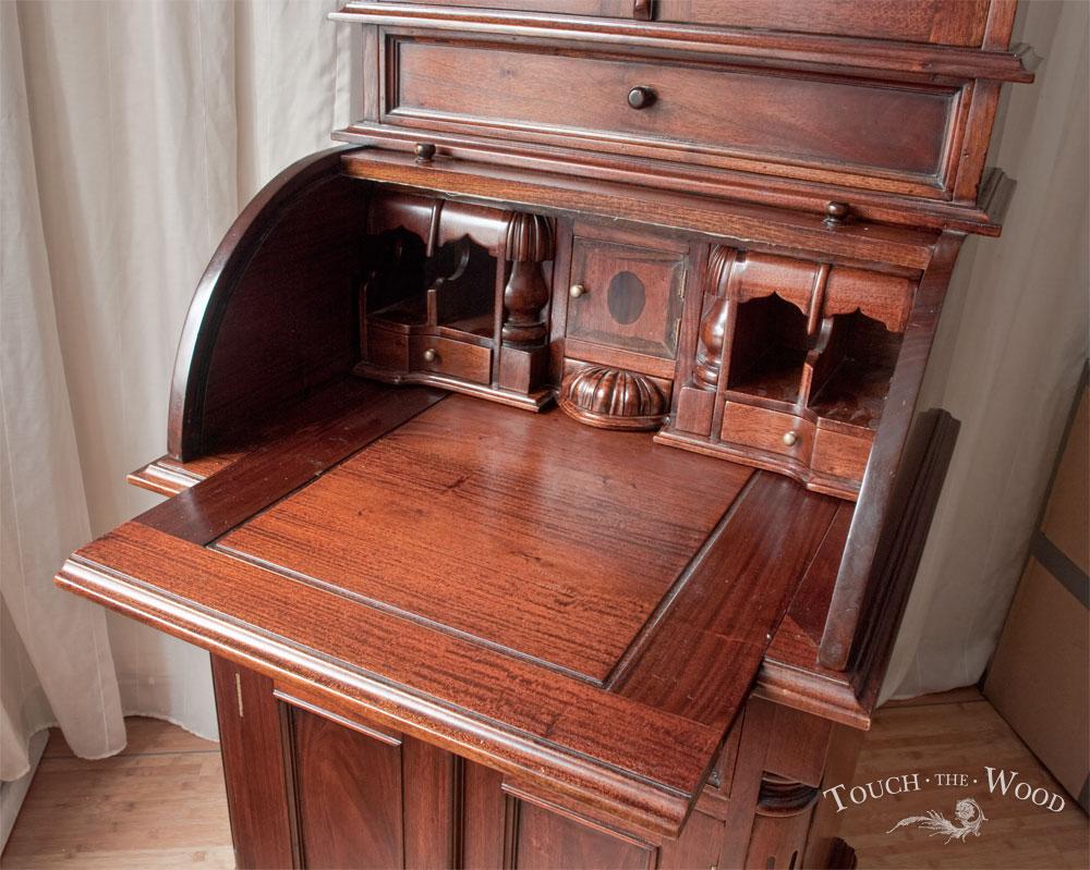 new arrival vintage bureau no 24 touch the wood. Black Bedroom Furniture Sets. Home Design Ideas