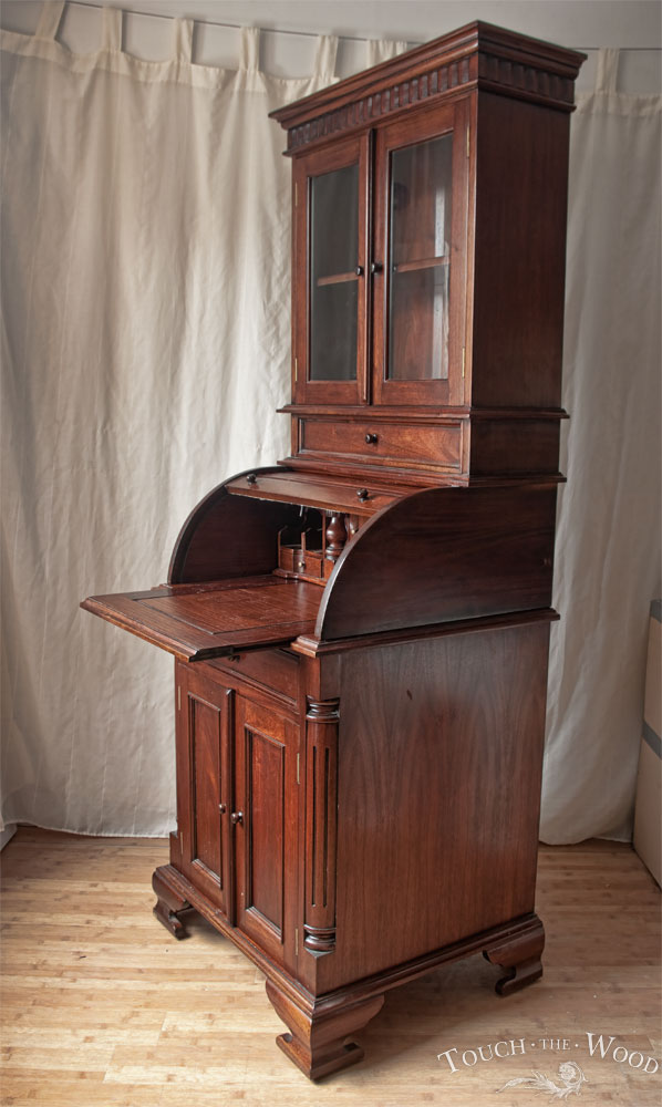 New Arrival Vintage Bureau no 24 Touch the Wood