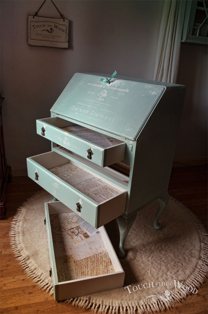 Shabby Chic Makeover with Print