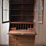 Late Edwardian Shabby Chic Bureau with Bookcase no 28 - before renovation