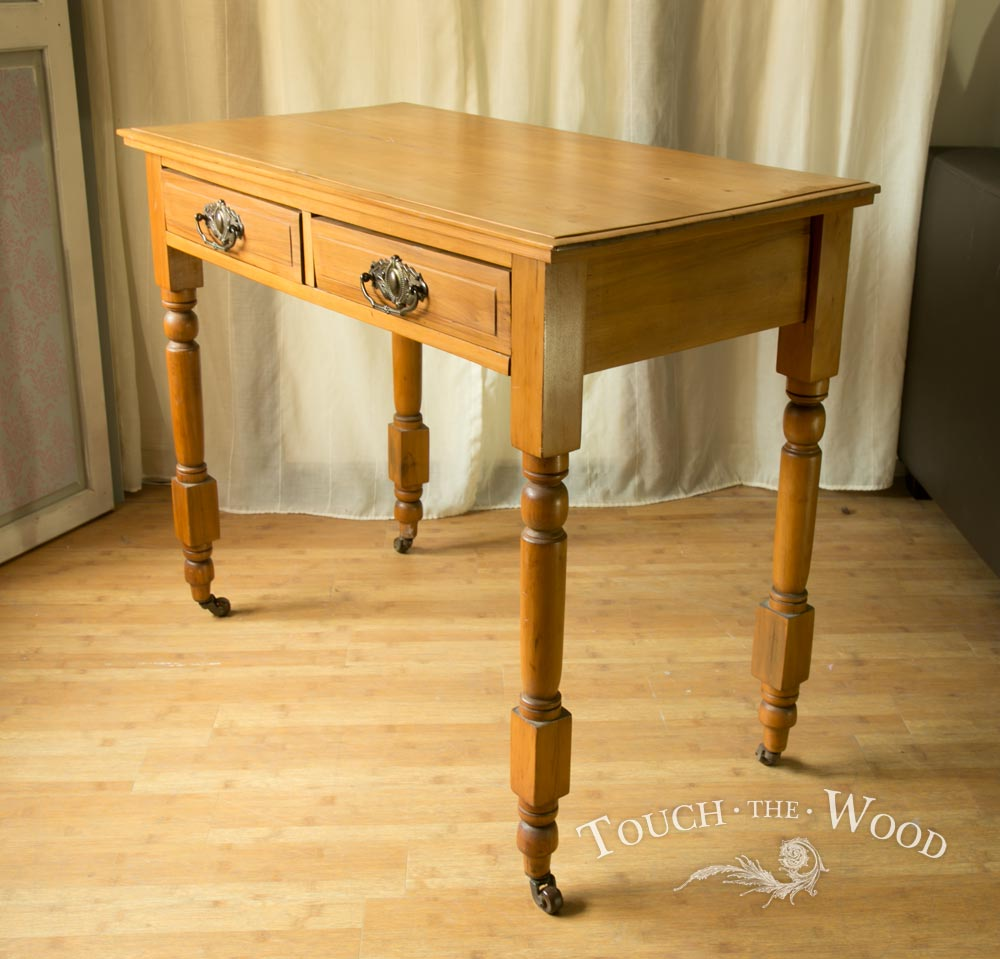 shabby chic edwardian side table