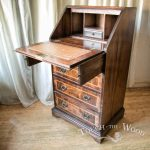 Vintage Bureau for shabby chic restoration
