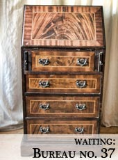 small vintage bureau for shabby chic restoration