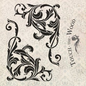 Acanthus Corner Scroll Vintage Water Decal
