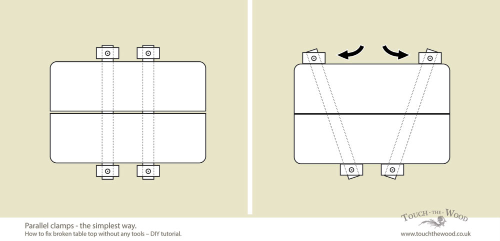 DIY-tutorial_fix-broken-table-top-without-tools_10
