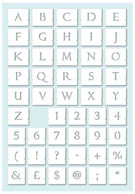 Elegant Stenciled Letters - Font Paddington Roman - preview 02