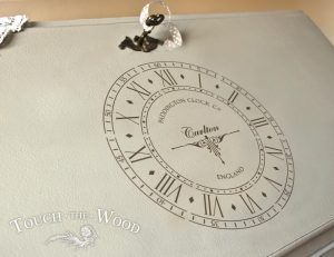 Old Paddington Clock Face Vintage Stencil