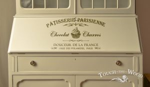 Shabby Chic Stencil French Paris Patisserie
