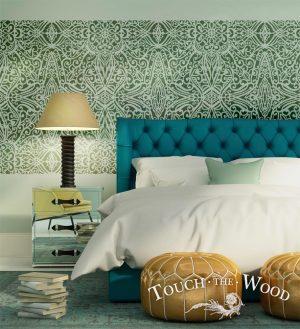 Shabby Chic Stencil: Wallpaper Trellis Pattern