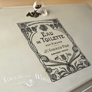 Vintage French Advert: Giraud Fils Eau de Toilette