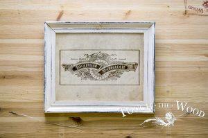 Vintage French Archaeological Association Label