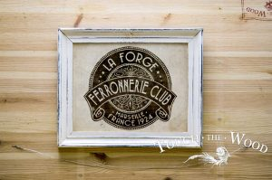 Vintage French Ironwork's Label
