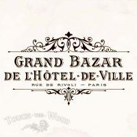 Vintage Hotel de Ville Grand Bazar