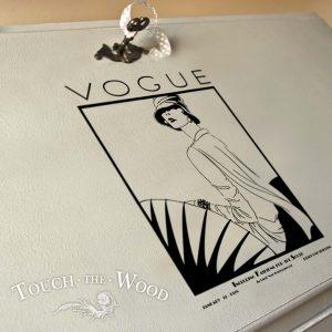 Vintage Vogue Magazine Cover