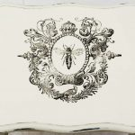 Water Decal Print Transfer Example - Queen Bee