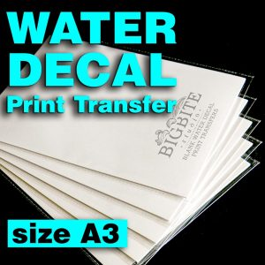 Main image of Blank Water Decal Paper Sheets for Shabby Chic Print Transfers size A3