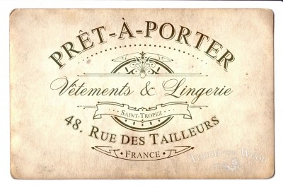 pret-a-porter shabby chic water decal print transfer
