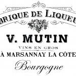 Shabby Chic Print Transfer - Vintage French Advert Fabrique de Liqueurs