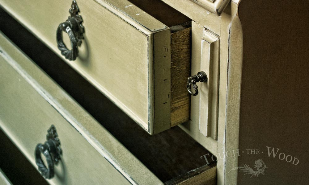 shabby chic bureau makeover - vintage furniture