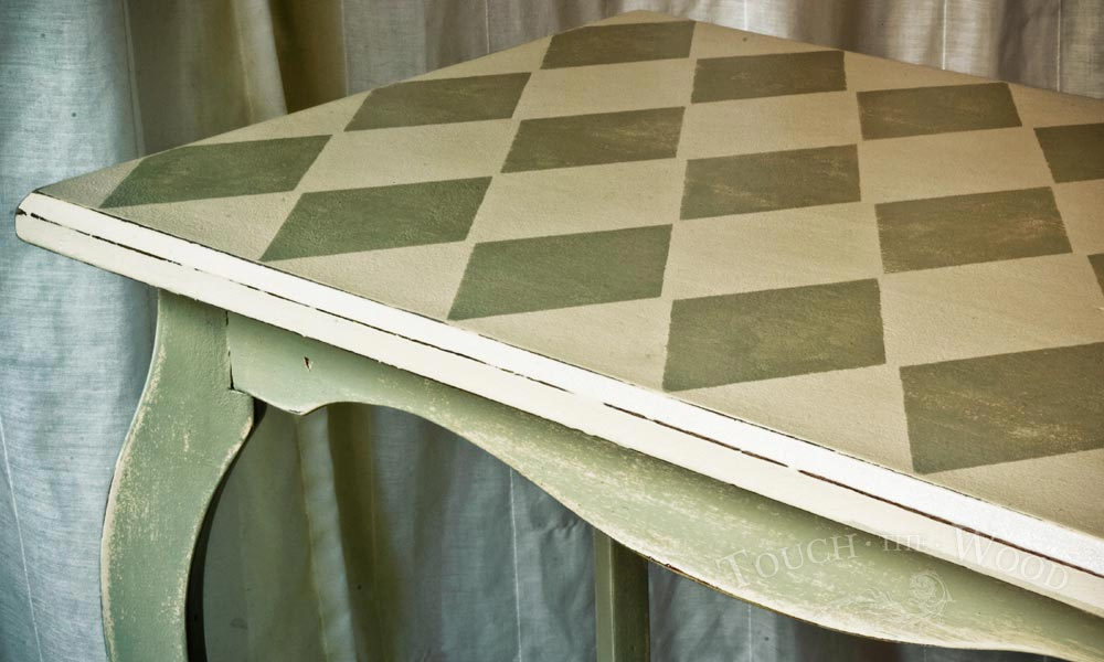 Harlequin Shabby Chic Side Table no. 05