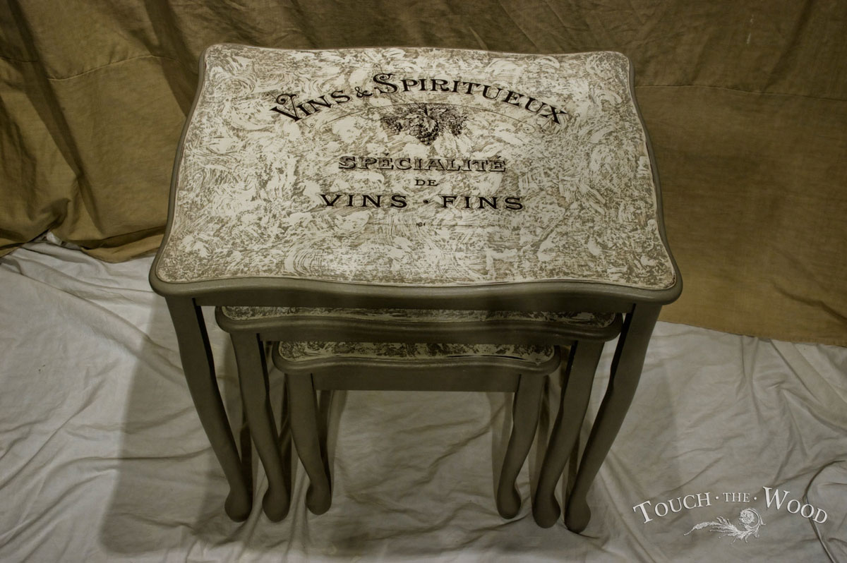 Shabby chic nests of tables no comparison touch