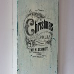 Shabby Chic Plaque - Christmas 01