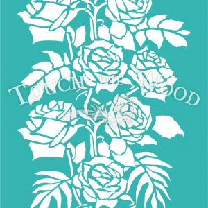 shabby-chic-stencil_#45_wild-roses-ornament_touchthewood-01
