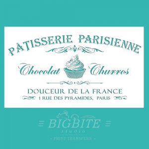 Main image of Vintage stencil French Patisserie Advert