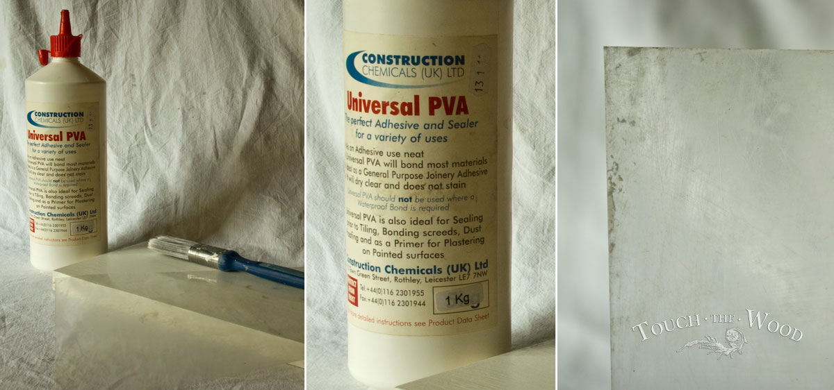 PVA Glue Print Transfer (Mod Podge Substitute) - What you need