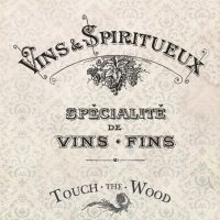 Vins & Spiritueux French Vintage Advert