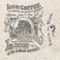 Vintage Lion Coffee Advert