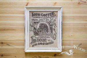 Vintage Lion Coffee Advert