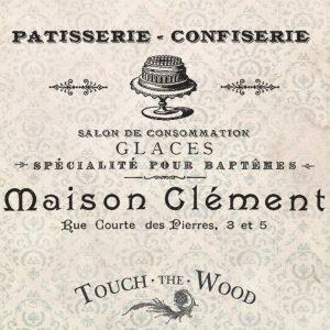 Vintage Confectionery (Patisserie) Advert
