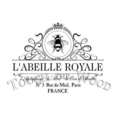 French Queen Bee Vintage Beekeeper Advert
